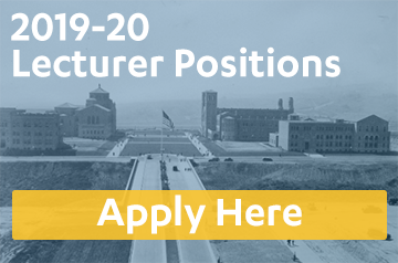2019-20 lecturer positions, click here to apply