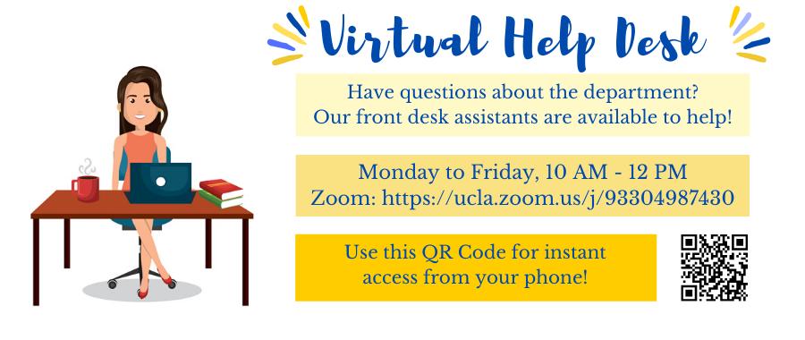 History Department Virtual Help Desk